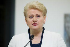 D. Grybauskaitė: Europa pripažins Ukrainos prezidento rinkimus demokratiškais