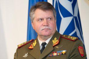 V. J. Žukas su NATO šalių kariuomenių vadais aptars situaciją Ukrainoje