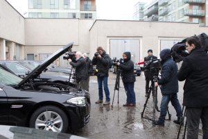 Pavyko parduoti pusę aukcionui teiktų Seimo automobilių