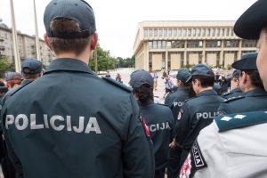 Reforma nepatenkinti policijos pareigūnai skundžiasi teismui