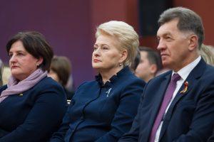 Prezidentės kritiką premjeras aiškina artėjančiais Seimo rinkimais