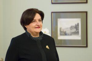 L. Graužinienė vyksta į Slovakiją dalyvauti parlamentų vadovų susitikime