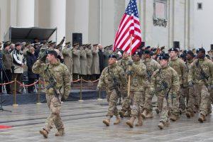 Seimas ratifikavo sutartį dėl JAV karių statuso Lietuvoje