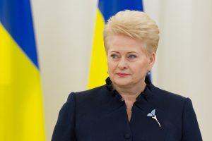 D. Grybauskaitė: mūsų pagalba ukrainiečiams – ypač svarbi