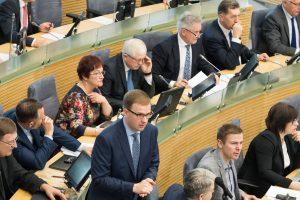Seime – bandymai pažaboti politines kovas savivaldoje
