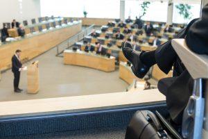Apklausa: verslininkai nieko nesitiki iš naujo Seimo