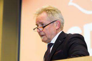 A. Sysas: išmainyti socialinius reikalus į ūkio suderėjo A. Butkevičius