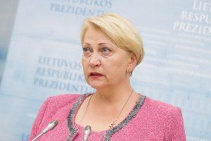 R. Budbergytė: ministerijų apetitas sumažintas keturis kartus