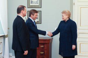 """Prezidentė: jokio spaudimo """"valstiečiams"""" dėl koalicijos partnerių nebus"""