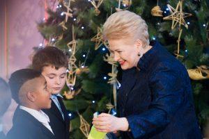 Prezidentė papasakojo apie savo kalėdines tradicijas