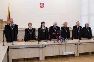 Pasitikėjimas teismais – aukščiausias per du dešimtmečius