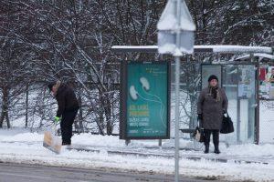 Nuo sausio 18-osios – naujos stotelės autobusų maršrutuose