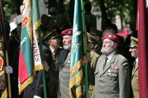 Kaišiadorių rajone pagerbti su sovietų okupacija kovoję partizanai