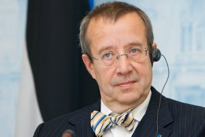 Estijos prezidentas: mūsų dabartis yra paminklas žuvusiesiems Vilniuje