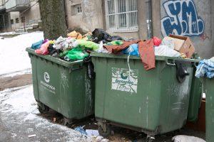 Vilniuje pradedamas atliekų konteinerių ženklinimas