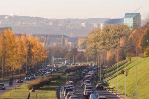 Vilniaus gatvėse – kaip kare?