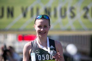 Bėgikė V. Žūsinaitė pasaulio čempionate užėmė 45-ąją vietą