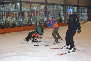 """Druskininkų """"Snow Arenoje"""" slidinėti galės ir neįgalieji"""