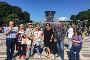 Lietuviams nusišypsojo sėkmė po Skandinaviją pakeliauti nemokamai