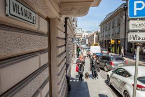 Dėl rekonstrukcijos darbų Vilniaus gatvės dalyje bus draudžiamas eismas