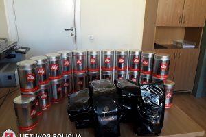Dokumentus klastoję sukčiai gausiai apsirūpino kava