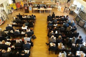 Vilniaus aukcione aršiausiai kautasi dėl istorinio J. Lelevelio veikalo