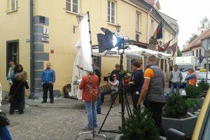 Vilniuje filmuoja švedų, britų, amerikiečių ir australų kino kūrėjai