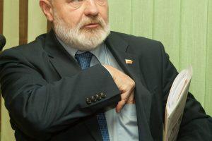 E. Gentvilas: R. Karbauskis ir A. Širinskienė yra melagiai ir sukčiai