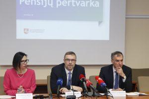 L. Kukuraitis žada dar 20 eurų didinti mažiausias pensijas