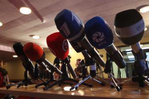Žurnalistai pralaimėjo teismą dėl sunaikinto Vyriausybės posėdžio įrašo