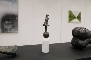 Sostinėje iš dailės galerijos pavogta bronzinė skulptūrėlė
