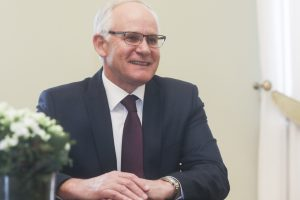Ministras A. Monkevičius – mokytojas iš Rietavo, grįžtantis į seną postą