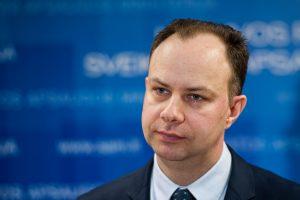 A. Veryga įspėjo ULAC vadovą už necenzūrinius pasisakymus