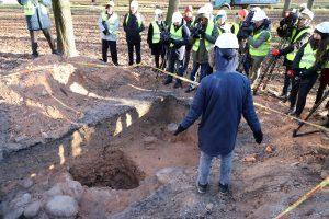 Reformatų aikštės rekonstrukcija sustabdyta dėl ypatingo radinio
