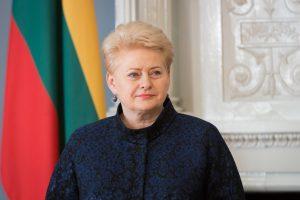 D. Grybauskaitė: Lietuvos Achilo kulnas – politikų rietenos (interviu)