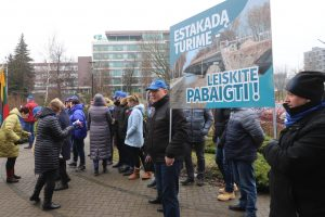 D. Vilytė ramino rusniškius: estakados statybų nenutrauktų joks teismas