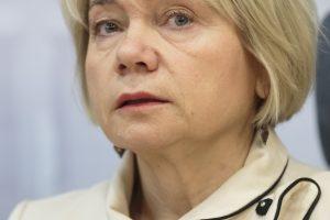 V. Ačienė nusišalina nuo darbo Antikorupcijos komisijoje