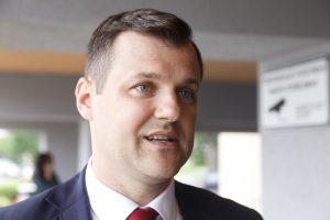 Socialdemokratai į Vilniaus merus kelia G. Palucką
