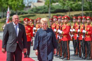 D. Grybauskaitė sakys kalbą Tbilisio Laisvės aikštėje