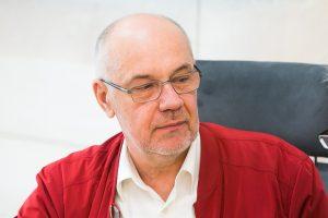 R. Lazutka: tikėti reikia Dievu, ne pensijų fondais