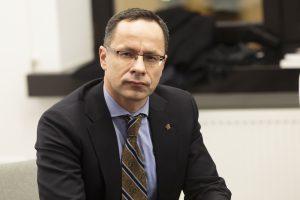 Konservatorių etikos sargai įspėjo Ž. Pavilionį dėl pasisakymų apie V. Ušacką