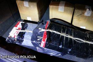 "Kontrabandos policija rado ir elektrėniškio ""Audi"", ir namuose"