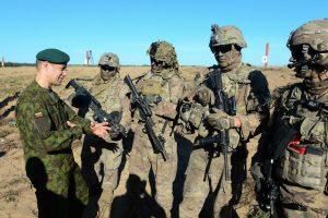 Pabradėje naują šaudyklą  išbandė Lietuvos, JAV ir NATO bataliono kariai