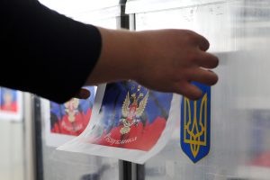Lietuva nepripažins Valstybės Dūmos rinkimų Kryme
