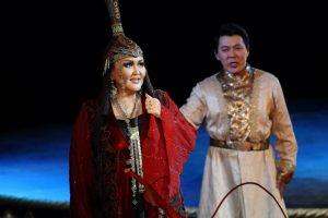 Operoje pasirodys žymiausia dambrelių virtuozė iš Jakutijos