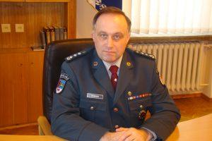 Naujasis policijos vadovo pavaduotojas – R. Bobinas