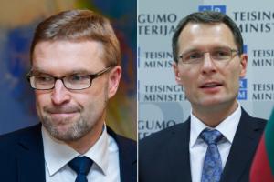 VTEK: ministrai L. Kukuraitis ir E. Jankevičius pažeidė tarnybinę etiką