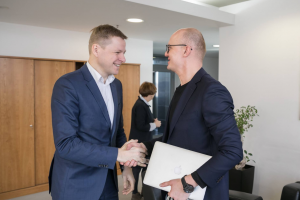 Žurnalistas E. Jakilaitis atidaro muziejų: pasakos Vilniaus istoriją