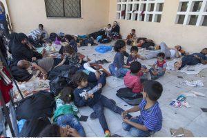 Akcijoje pristatyti aktyvistų norai padėti pabėgėliams