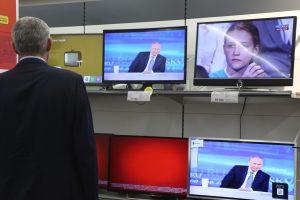 """Britai konstatavo ketvirtą """"NTV Mir Lithuania"""" pažeidimą"""
